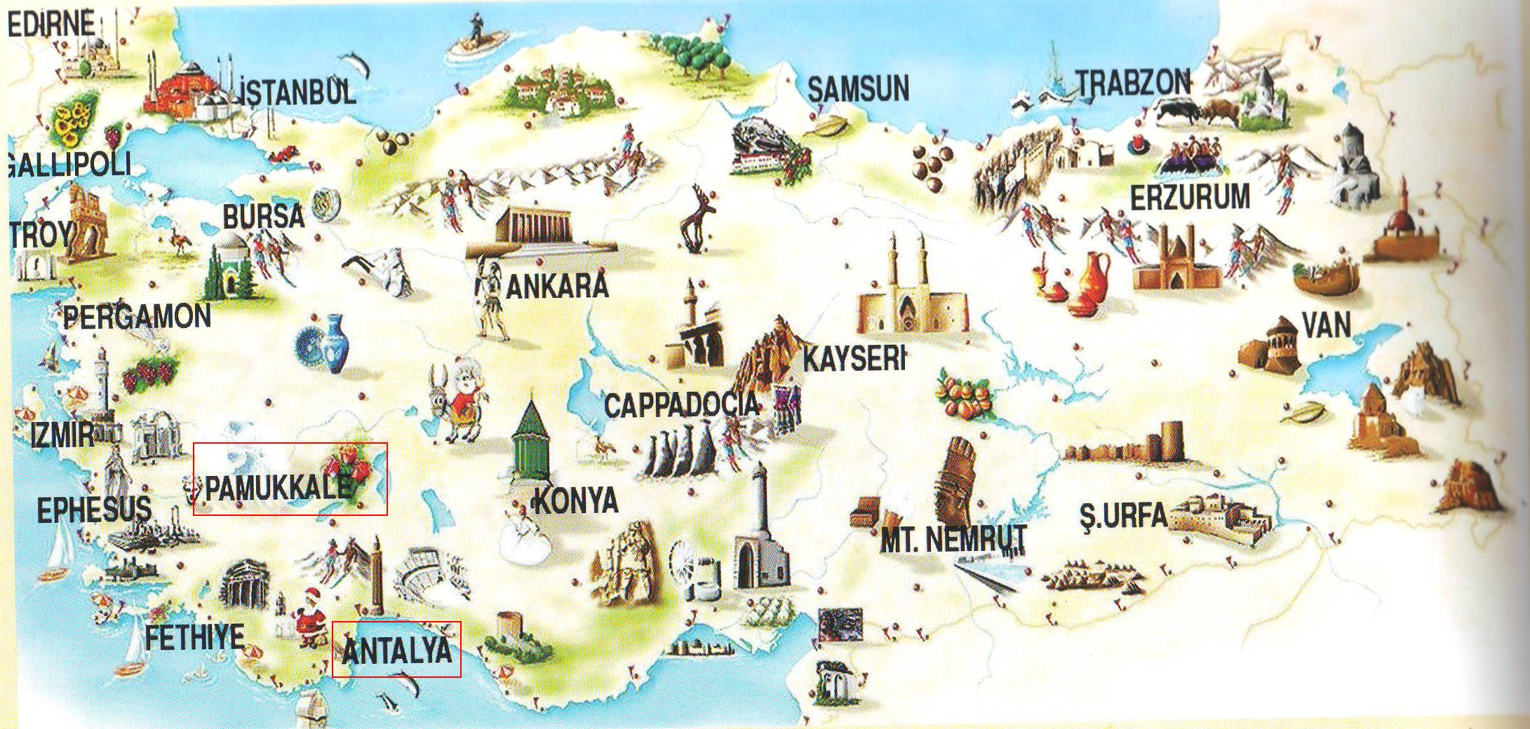 Город Denizli (Турция): карта, население, координаты