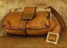 Кожаные сумки в Египте.