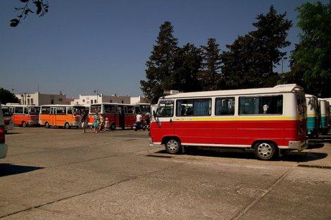 В Стамбуле продается специальная карта, которая позволяет ездить на автобусе.